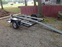 Got a three motor cycle trailer that has been newly