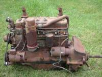 complete motor for a oliver tractor , needs rebuilt, no