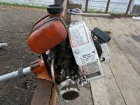 runs great it is a 85cc techumsee motor it is on a old
