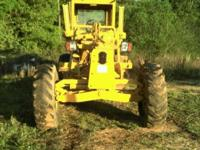 Champion d560 motor grader with Detroit 4-71 diesel