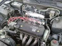 Honda motor and trany for info cal  we have 2 different