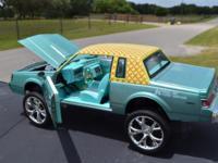 Blue- 1:24 Die-cast Model ... Motor Max 1987 Buick