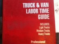 Motor truck and van labor guide. Includes pick-ups to