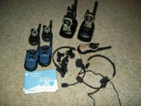 I have 7 each Motorola Talkabout Two-Radios for sale.