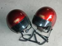 Matching Shoei helmets w/intercoms  His and Her