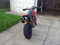 I'm aiming to sale my 08 Ducati Hypermotard 1100 with