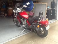 2006 Honda Shadow VLX 600Vance & Hines Exhaust Pipes,