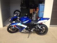 06 GSXR750. Only 7KMiles. Garage kept. Never been down.