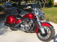 2003 Honda VTX 1800cc REDUCED!!!!!Candy-apple red,