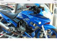 2006 LifanGS motorcycle XR racing sport 250cc almost
