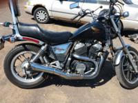 1983 Honda Shadow 500 excellent condition stored in