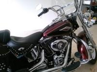 2015 Heritage softail 17,500 Red/Black 6,400