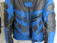 I am selling some motorcycle apparel. Please see the