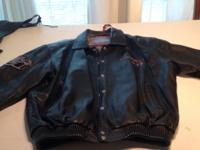 2 LEATHER JACKETS  2X     $75 EACH