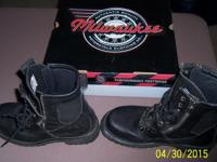 Milwaukee brand trooper boots are like new in box.-