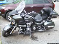 2011 Kawasaki Vulcan Voyager 1700 VN with accessories.