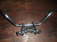 Motorcycle Handlebars from 1984 Yamaha 400XS Call  or