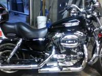 SPORTSTER 1200 LOW, 2009 (+FREE HELMET) BLACK,