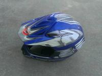 I have a motorcycle helmet for sale kid out grew it