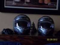 Asking $300.00. I have 2 matching Motorcycle Helmets
