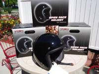 I HAVE TWO NEW IN BOX M/C HELMETS FOR $25 EACH,CALL OR