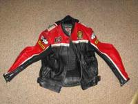 used nicky hayden jacket. good condition. size 44. call