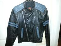 Beautiful vintage leather jacket, rarely worn. Golden