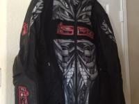 Men's 3x icon speed freak armored motorcycle jacket