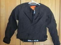 Merc Medium Jacket. Armour motorcycle light weight