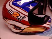 M2R MX helmet large still in the box, never used,
