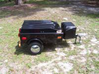 2010 Starlight motorcycle cargo trailer. Excellent