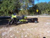 Motorcycle cargo trailer. Excellent condition. The