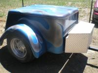I am selling a Motorcycle Pull Trailer. Looks really