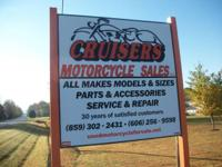 CRUISERS MOTORCYCLE SALES & & SERVICE LLC. MT. VERNON