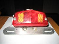 Tail Light for motorcycle with extra light and extra