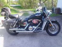 Turnkey, 2000 1500 Kawasaki Vulcan Classic with 25200