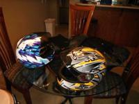 Have ON SALE two Helmets AND A JOE ROCKECT RIDING XL
