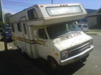 1979 Dodge motorhome runs good everything work stop by