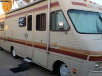 1988 fleetwood bounder 31 ft 454 chev 65.000 mi runs