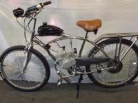 Motorized Bicycle, 100% street legal, below is our