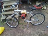 Motorized Bicycle 4 stroke engine 50 cc brand new shift