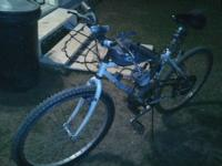 Motorized Bicycle for sale, runs good 66/80 cc will go