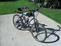 Motorized bicycle for sale , professionally ,built