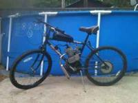 We have several bicycles we have put motors on. These