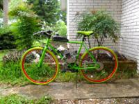 Please purchase motorized bicycle on ebay link $340.00