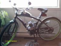 i have two custom built motorized bicycles,one is a