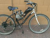 I'm selling my 80cc motorized bike used it to get to