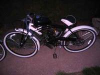 New Motorized 80 cc schwinn bike 26 inch 550.00. New