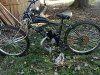I have a motorized bike  needs part for pull start. its