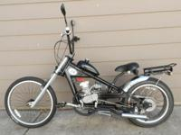 66cc Motorized Schwinn Stingray OCC choppers bike